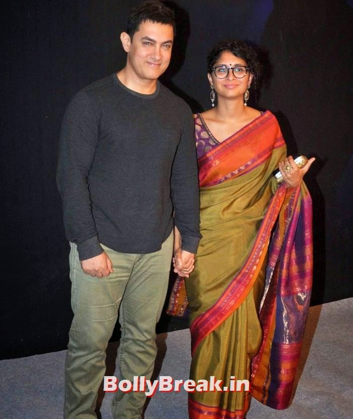 Aamir Khan, Kiran Rao, Star Parivaar Awards 2014 Red Carpet Photo Gallery