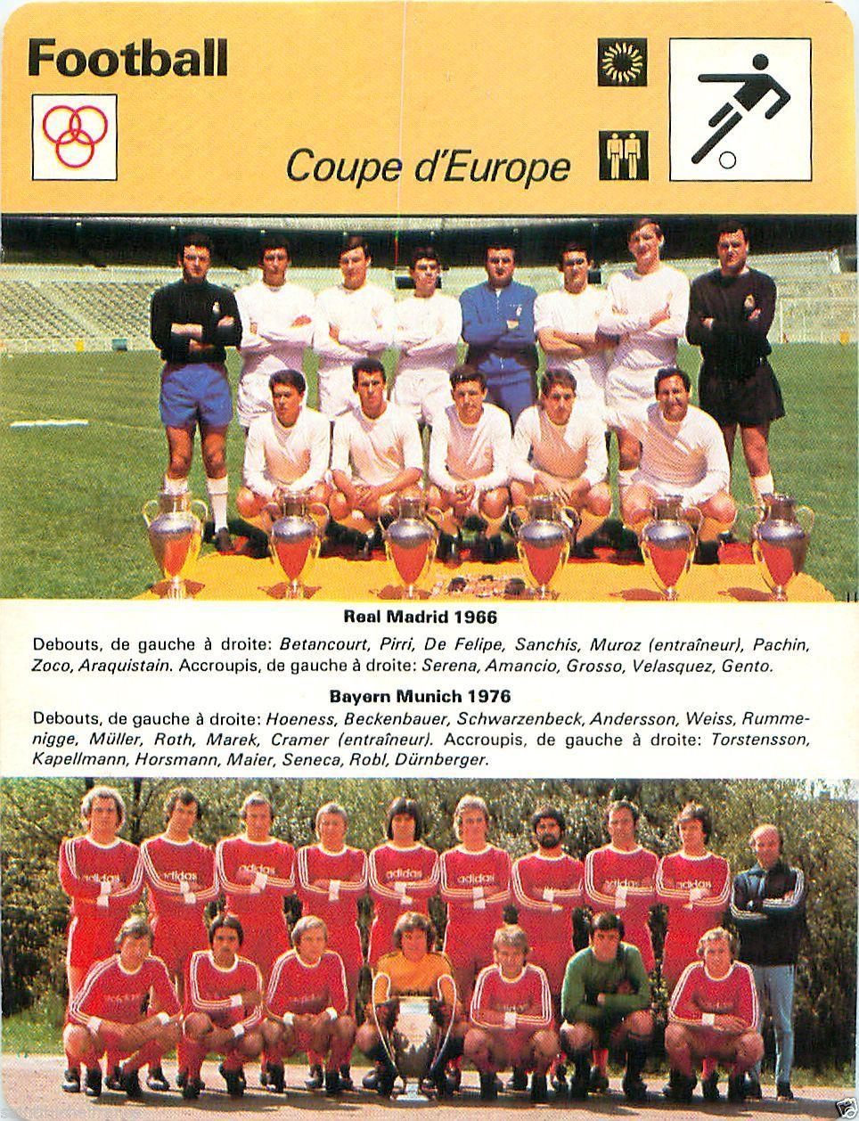 0f0882ea61 Le Real comptait alors 6 titres et le Bayern était triple-champion et  champion en titre.