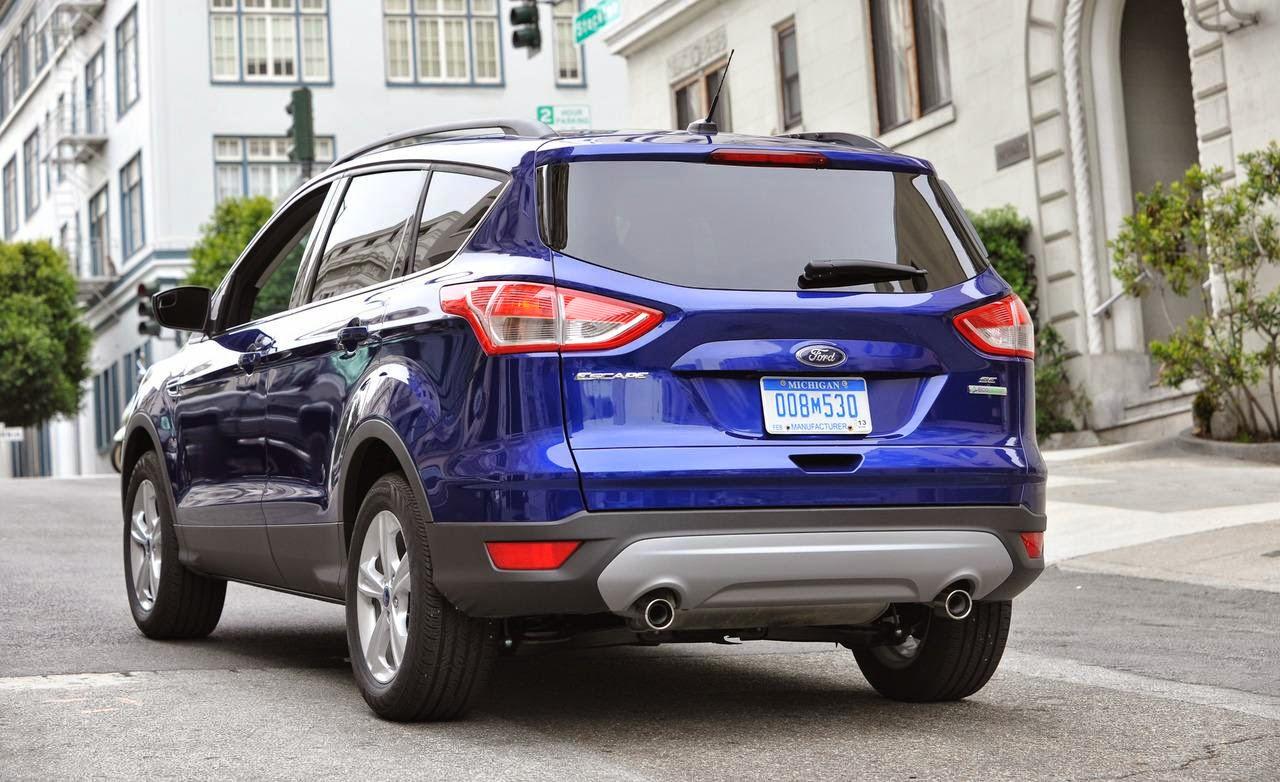 car review bd car reviews 2013 ford escape se. Black Bedroom Furniture Sets. Home Design Ideas