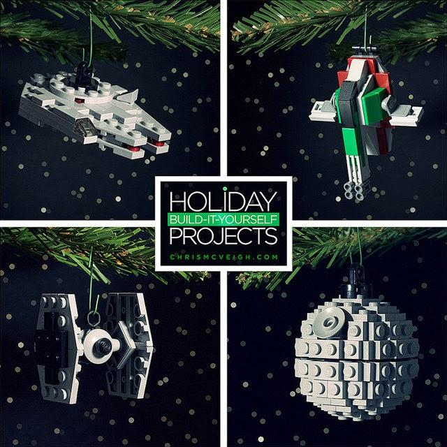 Star Wars Christmas Tree Lights: It's A Dan's World: DECORATE YOUR CHRIST-SITH TREE: Make