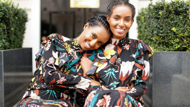 deaf twins, hermon heroda berhane,fashion bloggers at being her