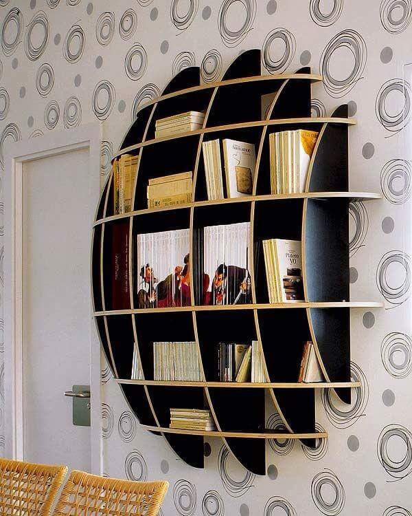 Creative Bookshelves this article gallery of creative bookshelves design for your