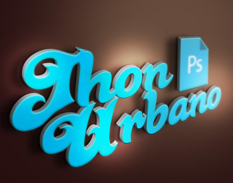 Plantilla efecto 3D en Photoshop | Jhon Urbano
