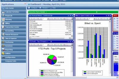 Deltek Vision Software