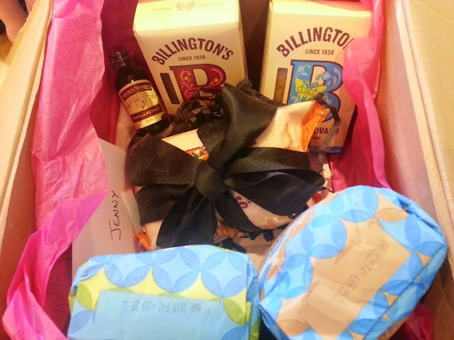Baking Mad product hamper Allinson Nielsen Massey and Billingtons