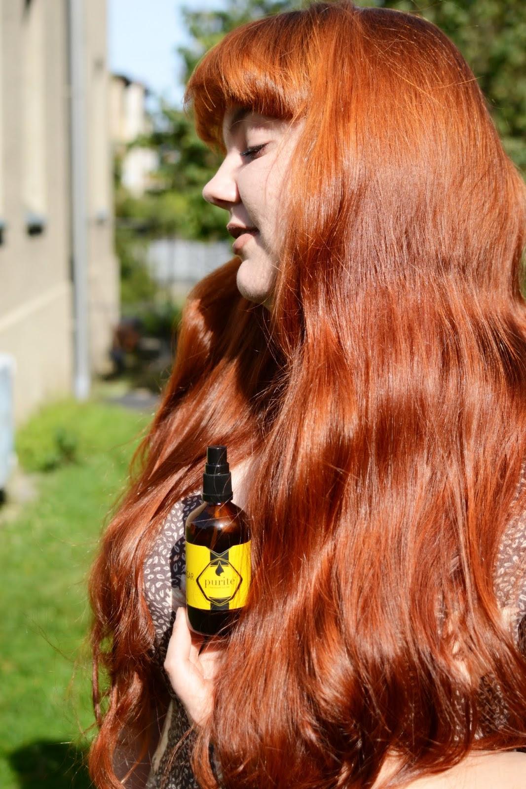 Purite, Spray zakwaszający włosy