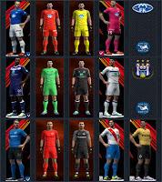 PES 2013 Club Brugge , Molde FK, Anderlecht Kits 2016-17 By Radymir