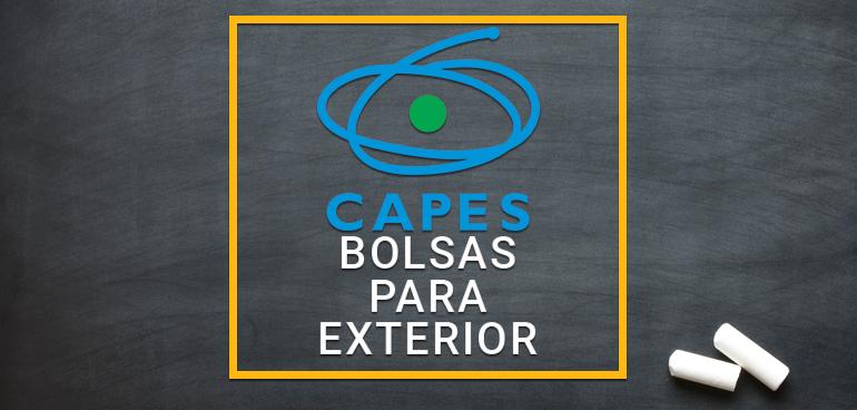 Bolsas Para Estudar No Exterior Doutorado P S Doutorado E Professor Visitante Capes Bolsas