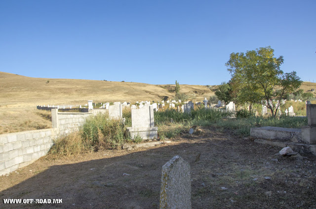 WW1 graves - Ascension of Christ church - Zivojno village, Novaci Municipality, Macedonia