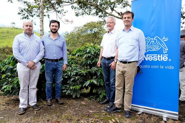 Nestlé investigaciones de café ecuador