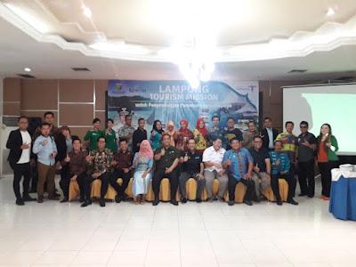 Dinas Pariwisata Lampung Bidik 40 Pelaku Industri Pariwisata Asal Sumsel