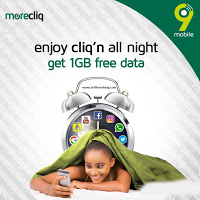 9Mobile Ng: Get Free 1GB Data For Night Browsing, see how to easily do this.