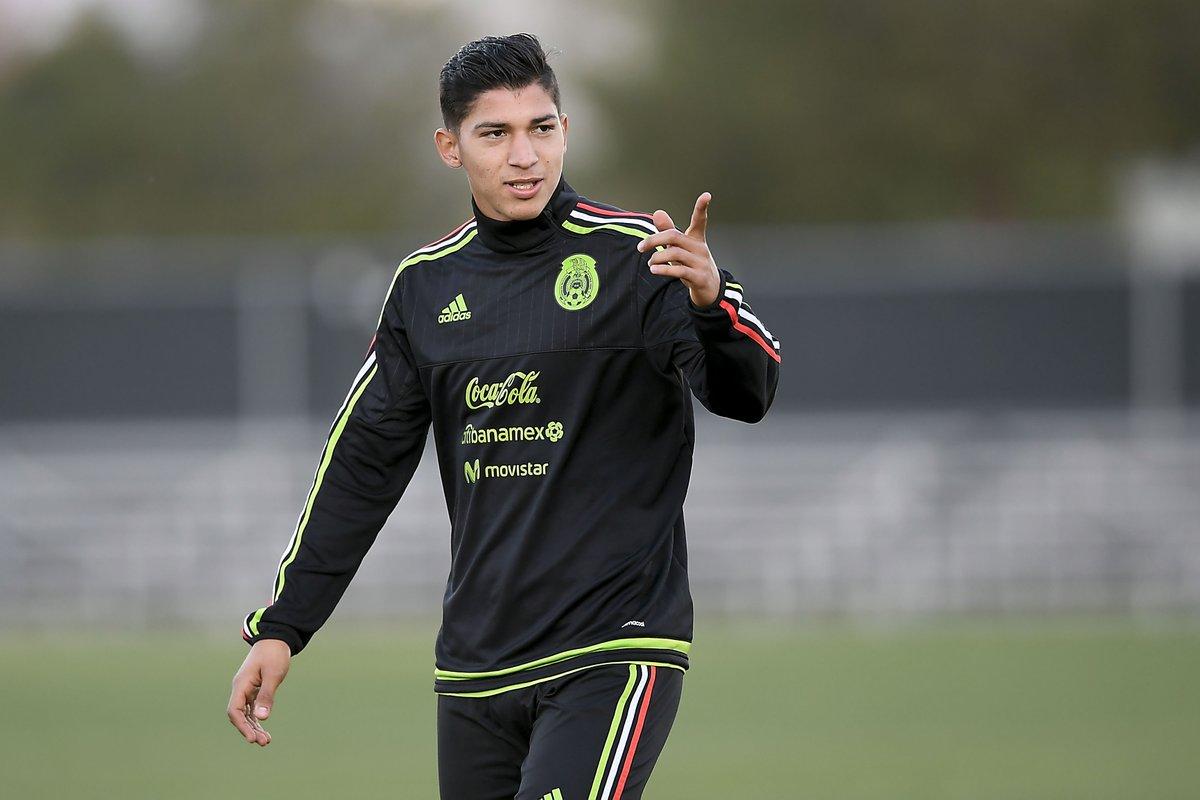 Ángel Zaldívar, convocado a la Selección Nacional de México.