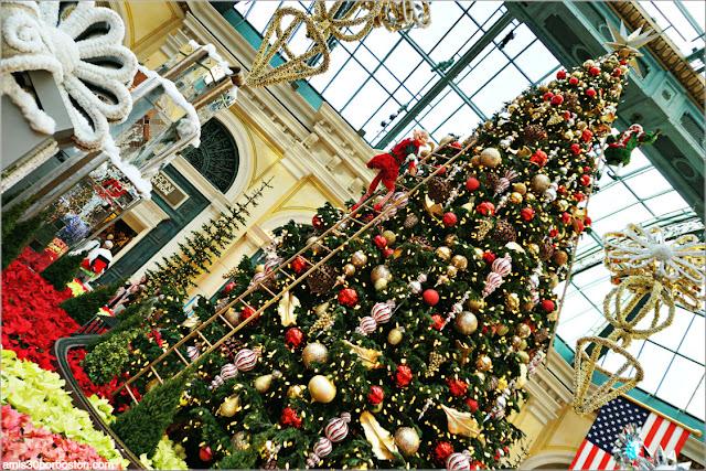 Holiday Glamour 2017 del Hotel Bellagio: Árbol de Navidad