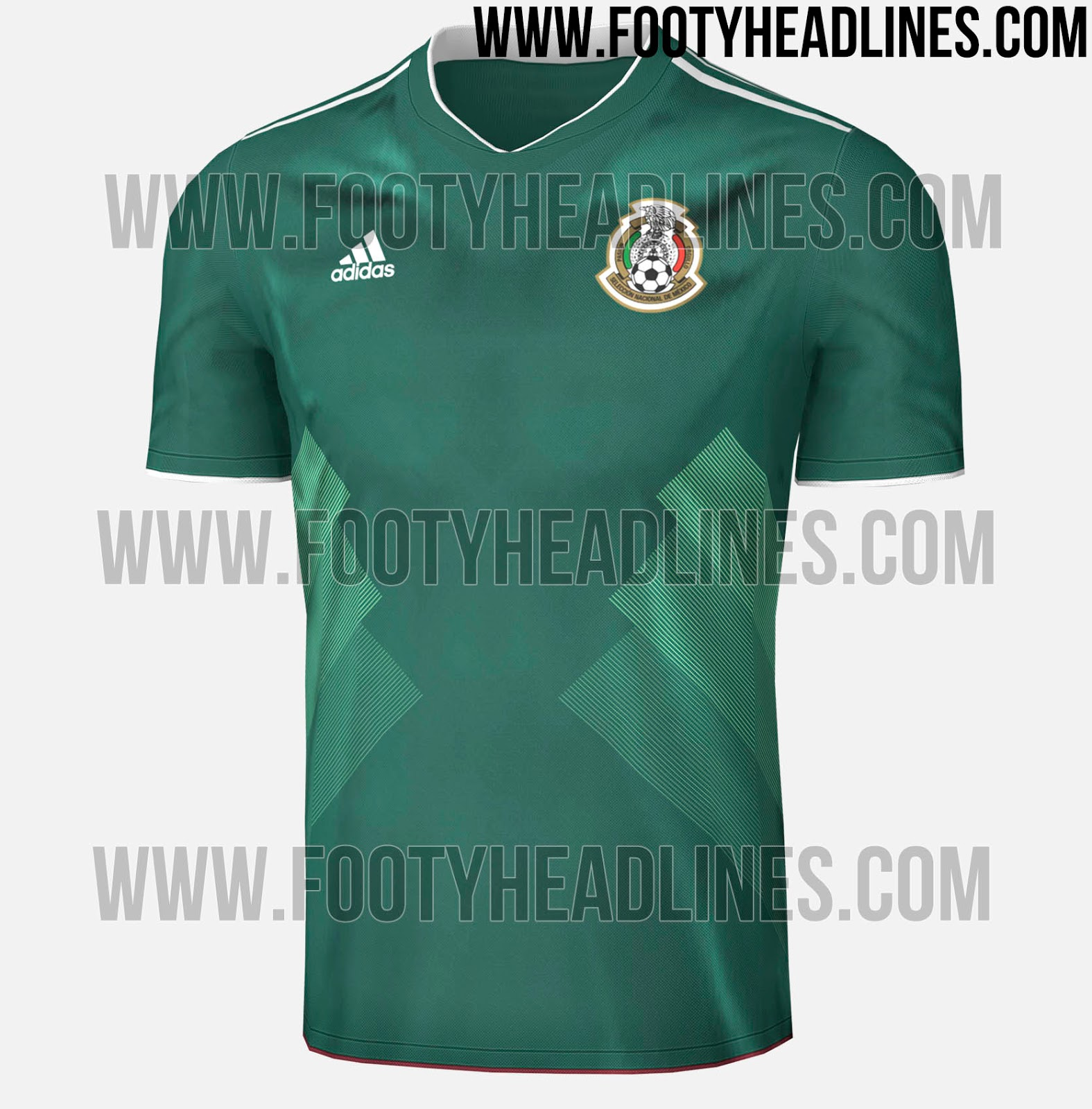 Mexico 2017 Home Kit Leaked Footy Headlines