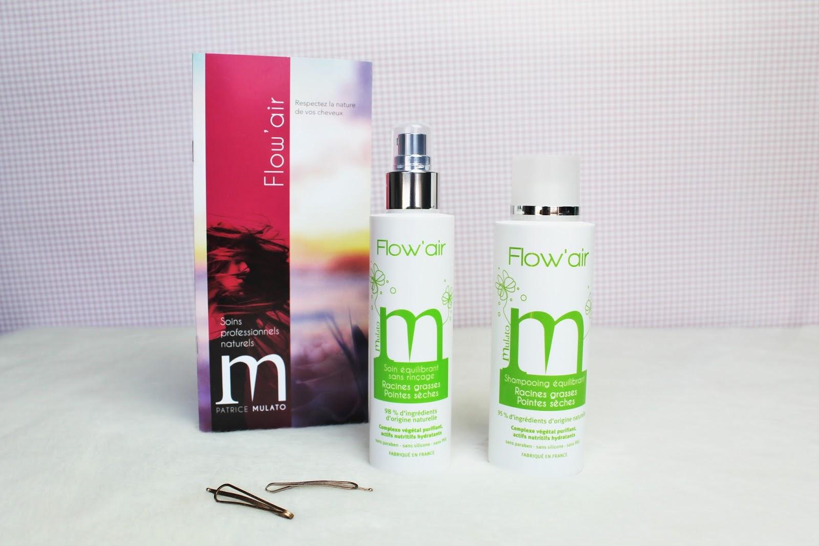 patrice mulato coiffure produits cheveux boucle flow air sans paraben sans silicone