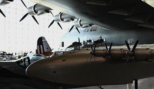 Howard Hughes Spruce Goose H4 Hercules Oregon