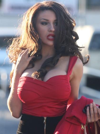 Große Brüste Courtney Stodden Dicke Titten Shopping - HC
