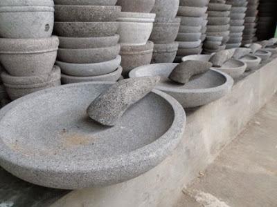 Cobek Batu |Cobek Batu Asli | Cobek Batu Baru | Cobek Batu Muntilan