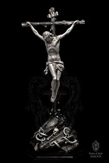 La Hermandad de la Vera+Cruz de Almogía aprueba realizar una nueva imagen del Santísimo Cristo de la Vera+Cruz