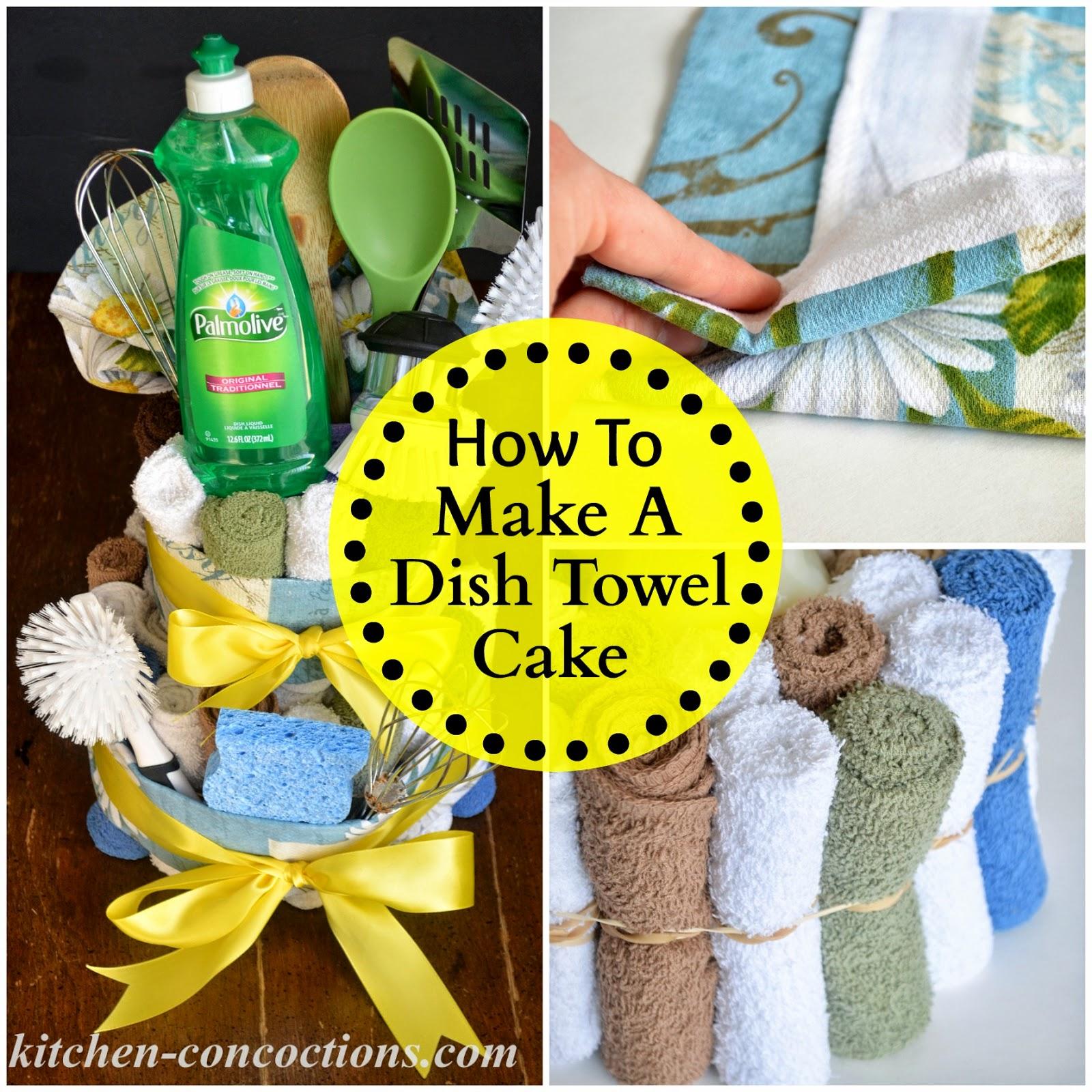 Creative Soap Ideas: Dish Towel Cake (Step-by-Step Tutorial ...