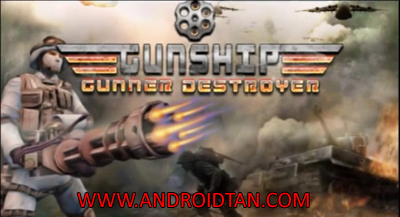 Download Gunship Gunner Destroyer Mod Apk v2.1 (Unlimited Money) Android Terbaru 2017