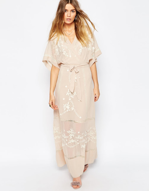 embroidered maxi dress, blush maxi dress,