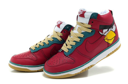 release date: a5b22 2554d Nike Dunk Angry Birds Red Shoes Cartoon PC Game For Sale