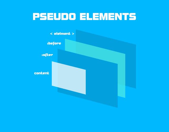 css de pseudo elements kullanımı