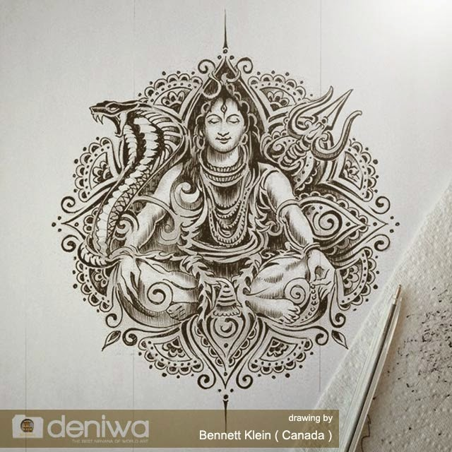 Art Gallery Awesome Lord Shiva Tattoo Design