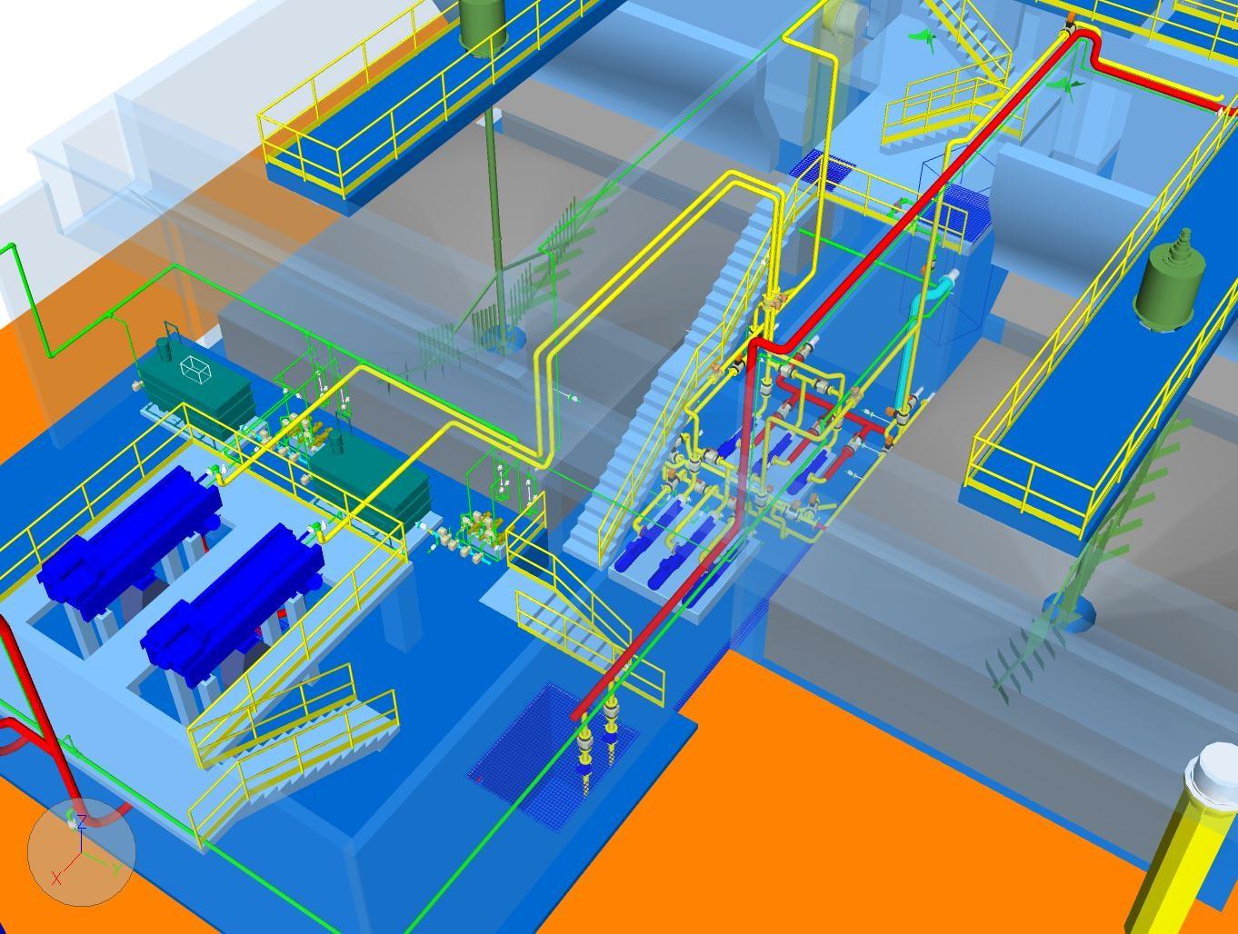tuberías autocad plant 3d plantas industriales
