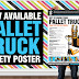 Pallet Truck Inspection Checklist Poster