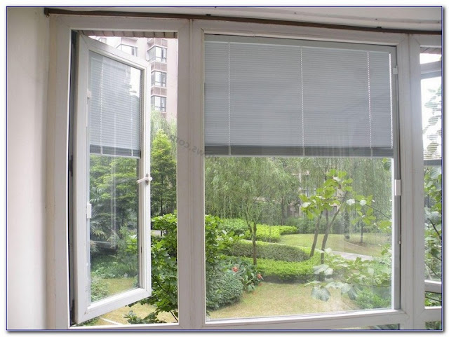 Picture Anderson WINDOWS With Blinds Between The GLASS