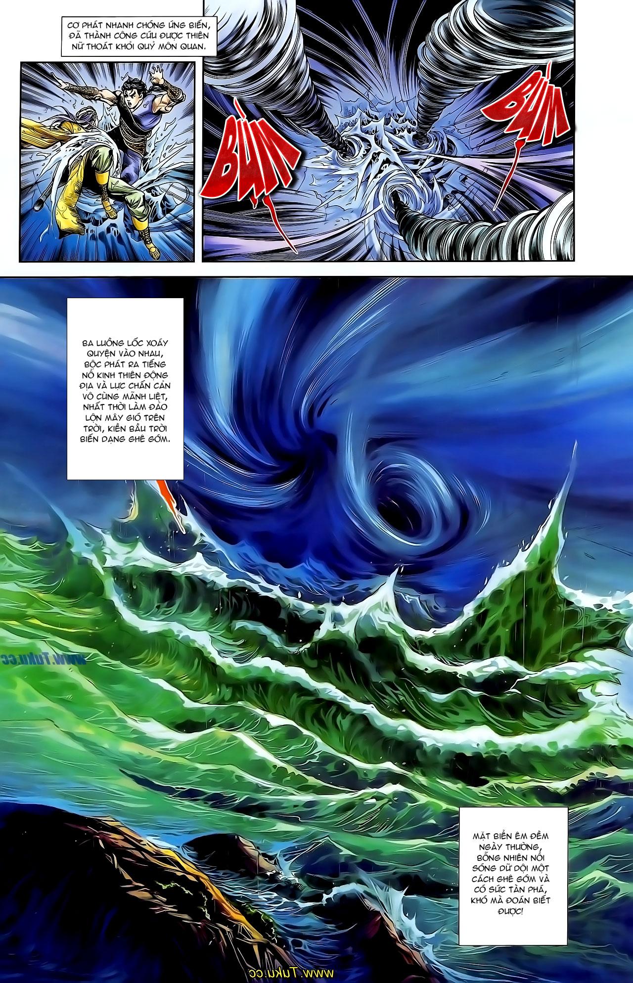 Cơ Phát Khai Chu Bản chapter 129 trang 15