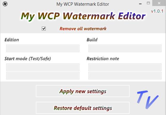 Watermark Editor