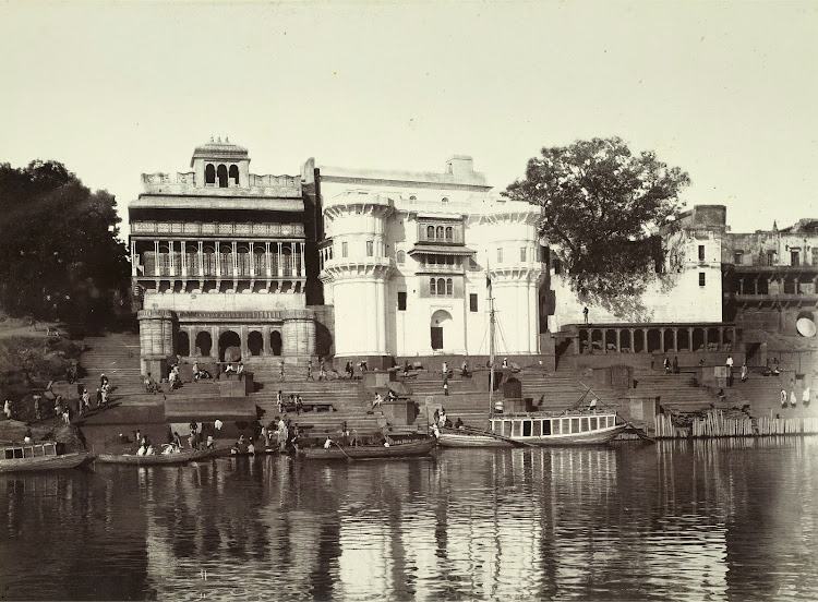 Asi Ghat - Benares (Varanasi) 1905