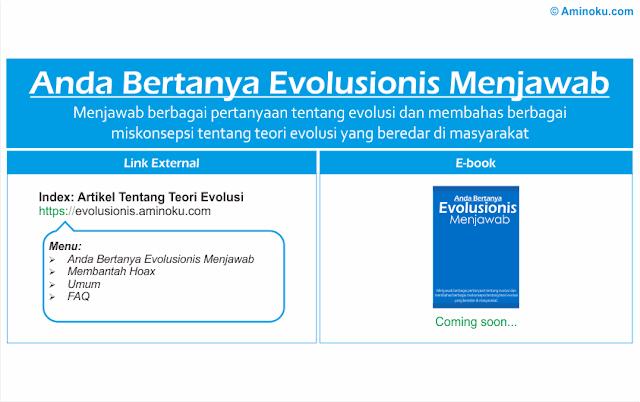 Anda Bertanya Evolusionis Menjawab