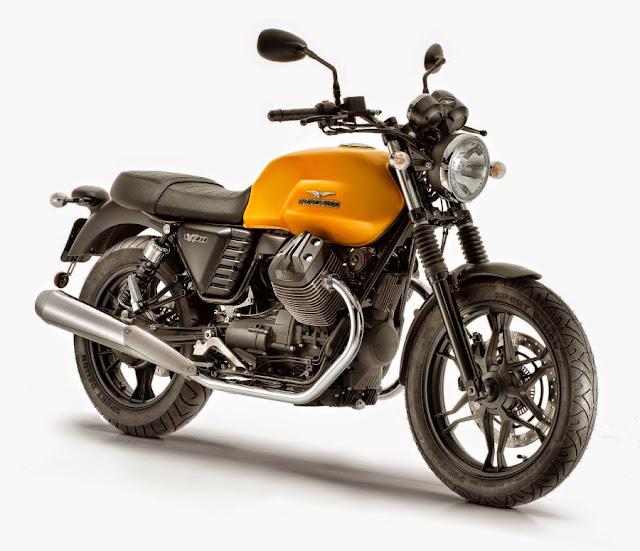 Moto Guzzi V7 II 2015 Di Lancarkan - ABS & Traction Control
