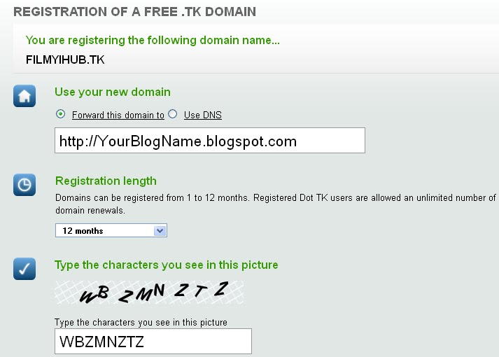 how to buy a domain and set up a website