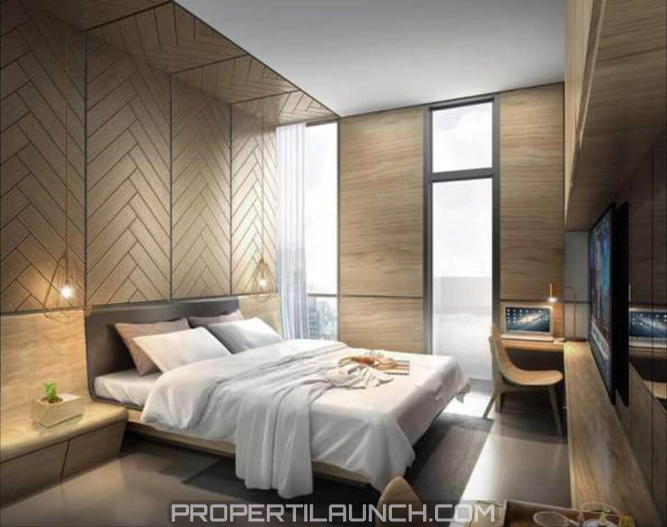 Design Interior Studio Type Monroe Apartemen Jababeka