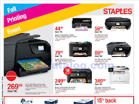 Staples Weekly Ad October 21 - 27, 2018