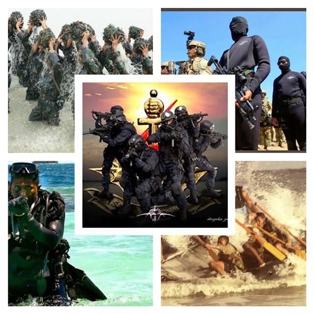 Latihan 'Hellweek' Kopaska TNI AL Bikin Dunia Merinding