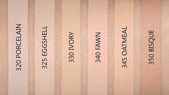 L'Oreal Infallible Full Wear More Than Concealer Review Photos Swatches 320 325 330 340 345 350 MAC NW10 NC10 NW15 NC15