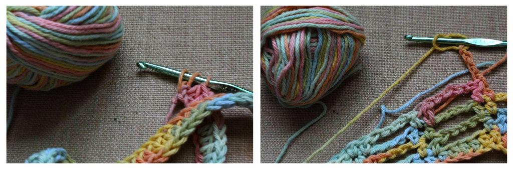 the dream crochet blog.: DIY // Spring Skinny Fringe Crochet Scarf ...