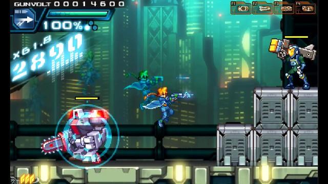 Azure Striker Gunvolt PC Games Screenshots