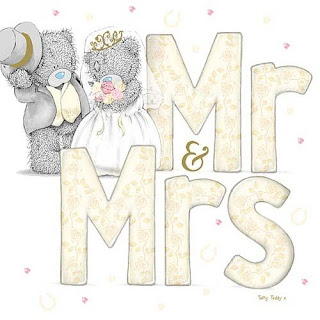 Me to You Bears Free Printable Mr. And Mrs. Sign