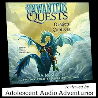 Adolescent Audio Adventures reviews Dragon Captives audiobook
