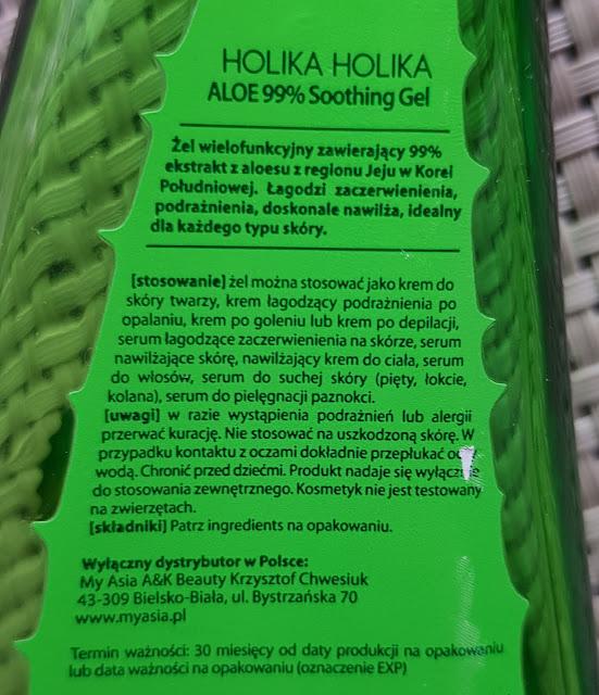 Holika holika żel aloesowy 99%
