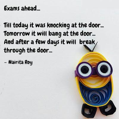 Tomorrow Exam Quotes
