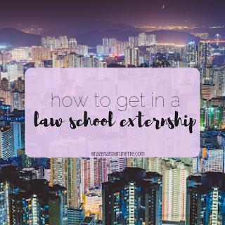 law school externships | brazenandbrunette.com